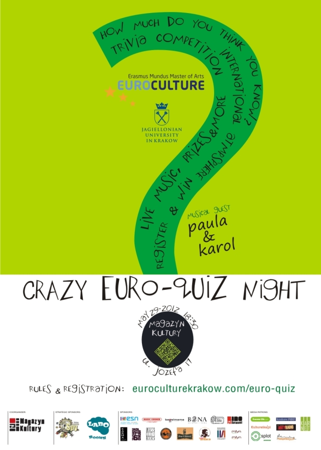 CRAZY EURO-QUIZ NIGHT
