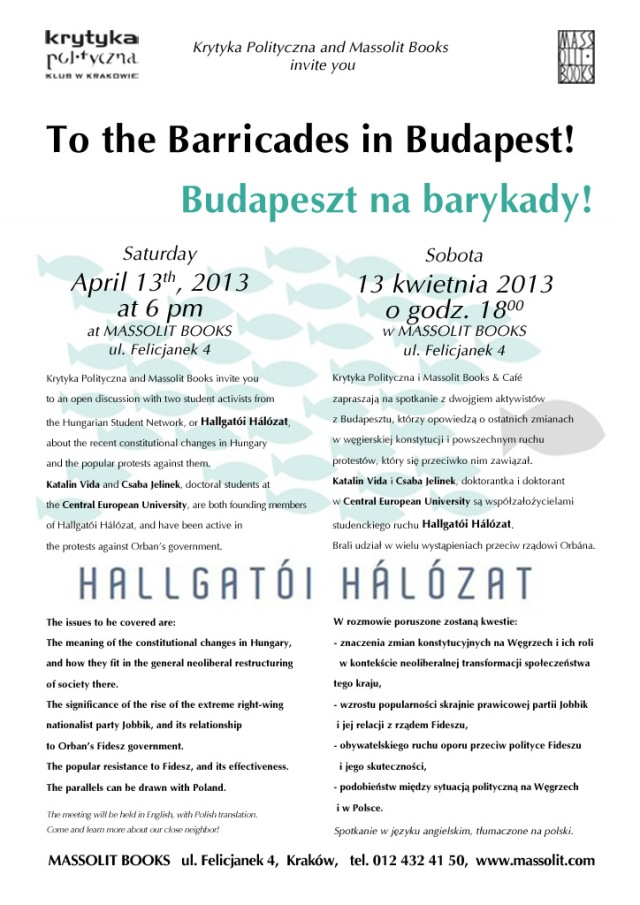 barricade budapest